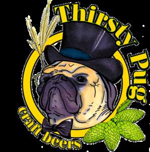 thirsty pug logo