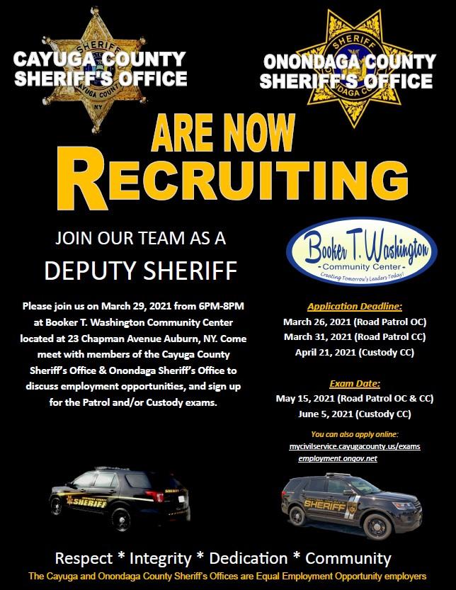 Sheriff's Office Recruitment